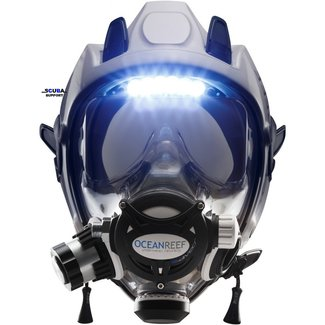 Ocean Reef Full face mask Ocean Reef Space Extender with Visor Lights
