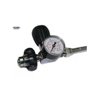 DirZone Fill Whip / Decanting hose DIN-DIN incl pressure gauge 500cm