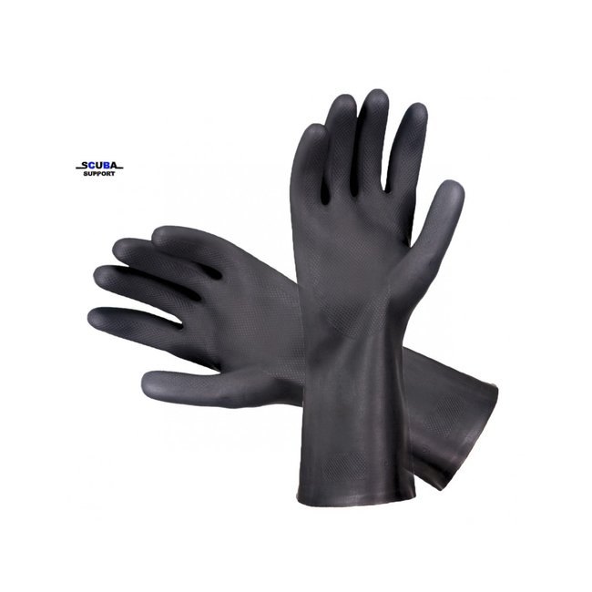 Droogpak handschoenen Marigold Black Heavyweight G17K