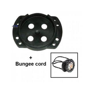 Scubapro Bungee behuizing voor Scubapro FS-1 kompas
