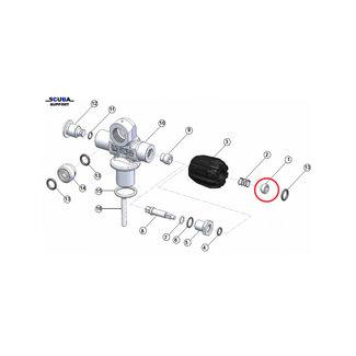 Apeks Apeks M5 Retaining Nut for valve knob