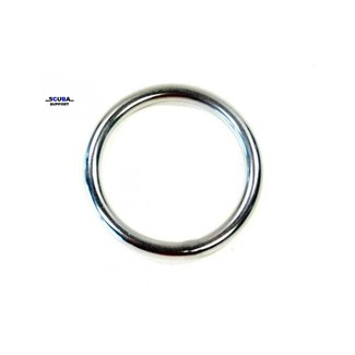 Chr. Muller Touw Ring RVS 6 mm x 40 mm