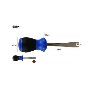 Tank valve knob tool