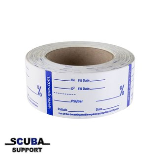 Halcyon GUE Gas Analysis Tape, Roll