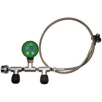 Metalsub Metalsub Oxygen Equalizer Nevoc Din To Din 200/300 Flow Control Digital Pg 1 m