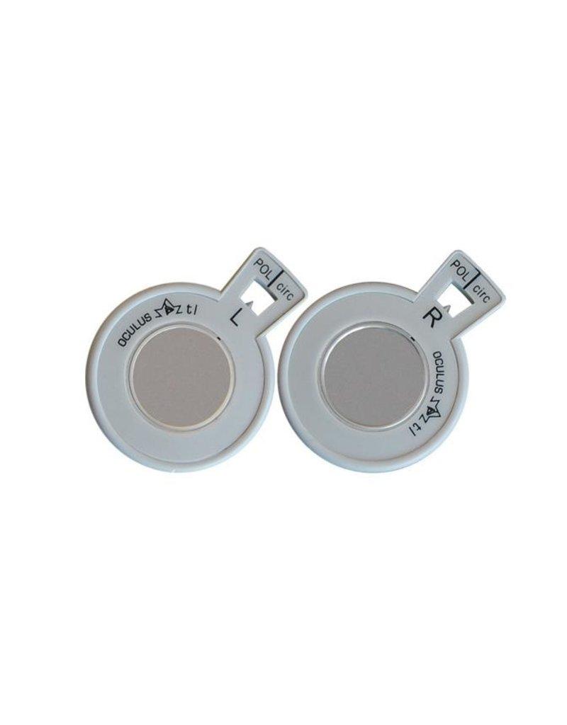 Oculus Oculus circulaire polaroid filters, per paar, diameter 38 mm