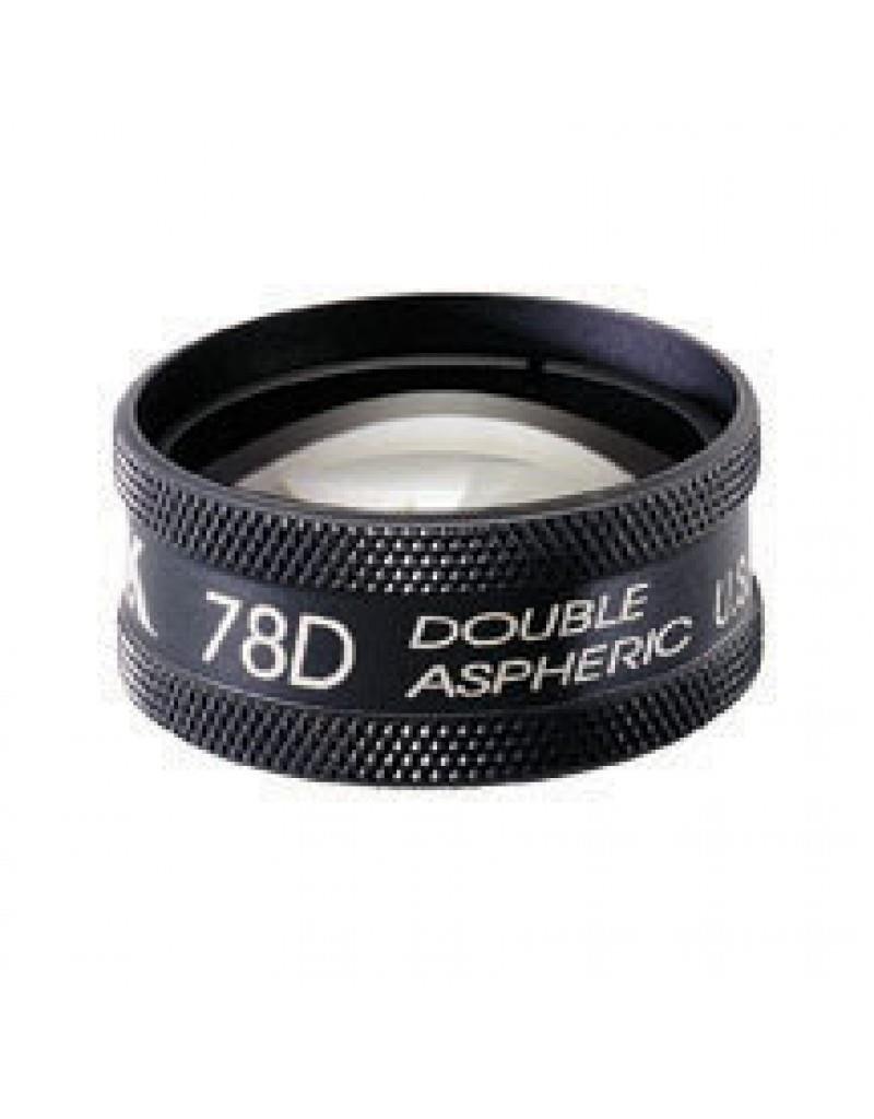 Volk 78D Clear lens met zwarte ring
