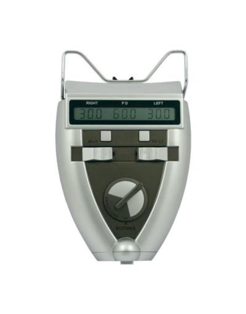 Digitale PD meter in de kleur light silver