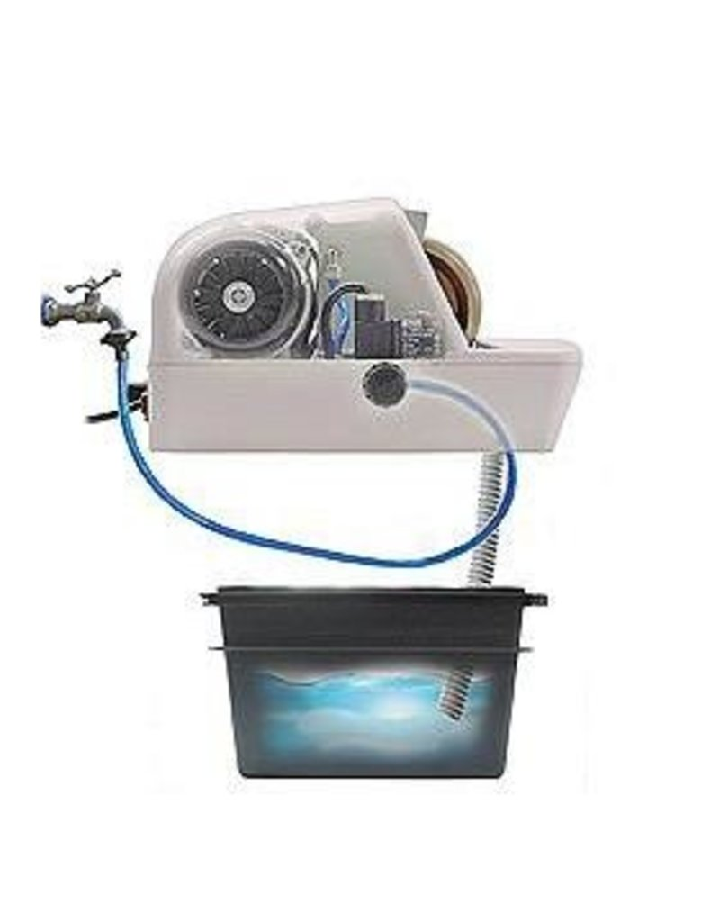 ROM handslijper H30SE met waterslot/-leiding met sensor naslijpen met facet