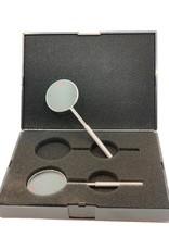 EyeVinci kruiscilinder set 0.25D en 0.50D, metalen vatting
