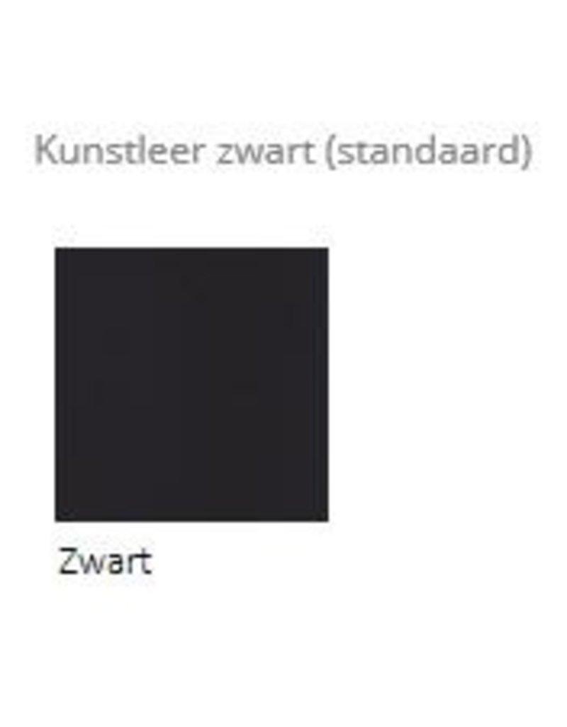 Score zadelkruk Amazone (smalle zitting), bekleding Stamskin, Stamskin bicolor of kunstleer zwart