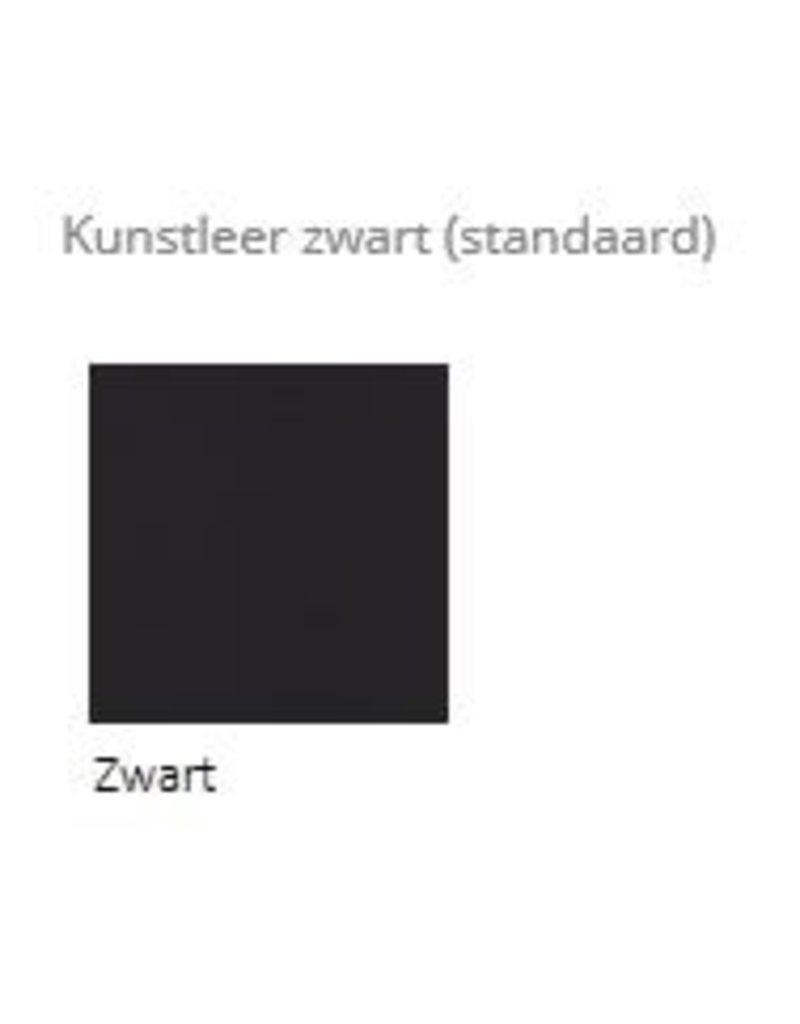 Score zadelkruk Jumper (brede zitting), bekleding Stamskin, Stamskin bicolor of kunstleer zwart