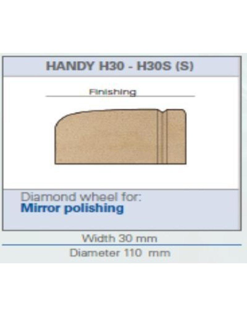 ROM handslijper H30E waterslot/-leiding zonder sensor naslijpen met facet