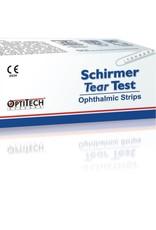 Schirmer Tear Flo test 100 strips/1 ds steriele strip