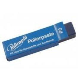Polijstwax Polirapid voor kunststof en rubber