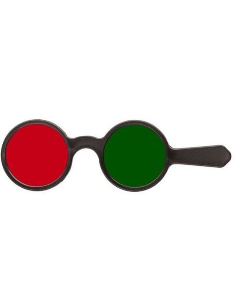 Oculus Oculus voorhouder rood/groen op steel