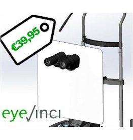 EyeVinci ademscherm groot voor spleetlamp