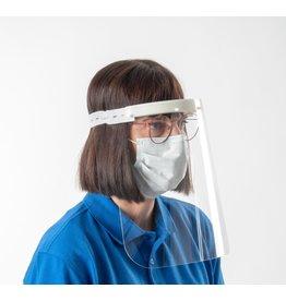 Oculus Oculus faceshields, draagbaar gezichtsmasker/spatmasker per 5 stuks