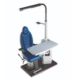 Frastema Frastema New Simplex refractie-unit 65PC met stoel naar keuze, 2-instrumentenblad