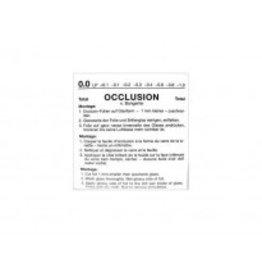 Occlusie-folie vlgs.Bangerter 0.0 t/m 1.0