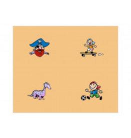 Occlusie-folie voor kinderen met afbeeldingen