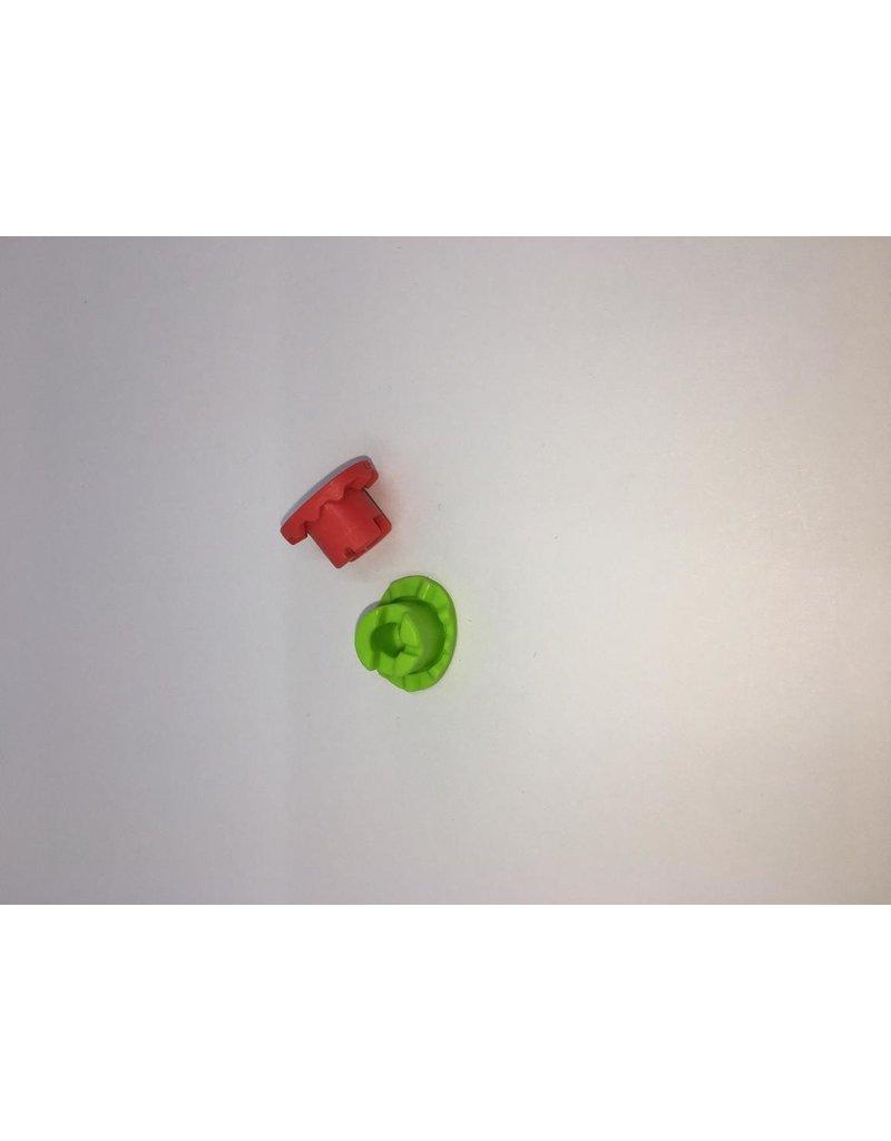 Nidek Nidek LEXCE Mini cup (rood en groen)  set 5 stuks