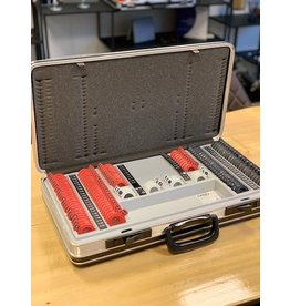 MSD Demo MSD 198 delige pasglazenset kunststof incl. koffer
