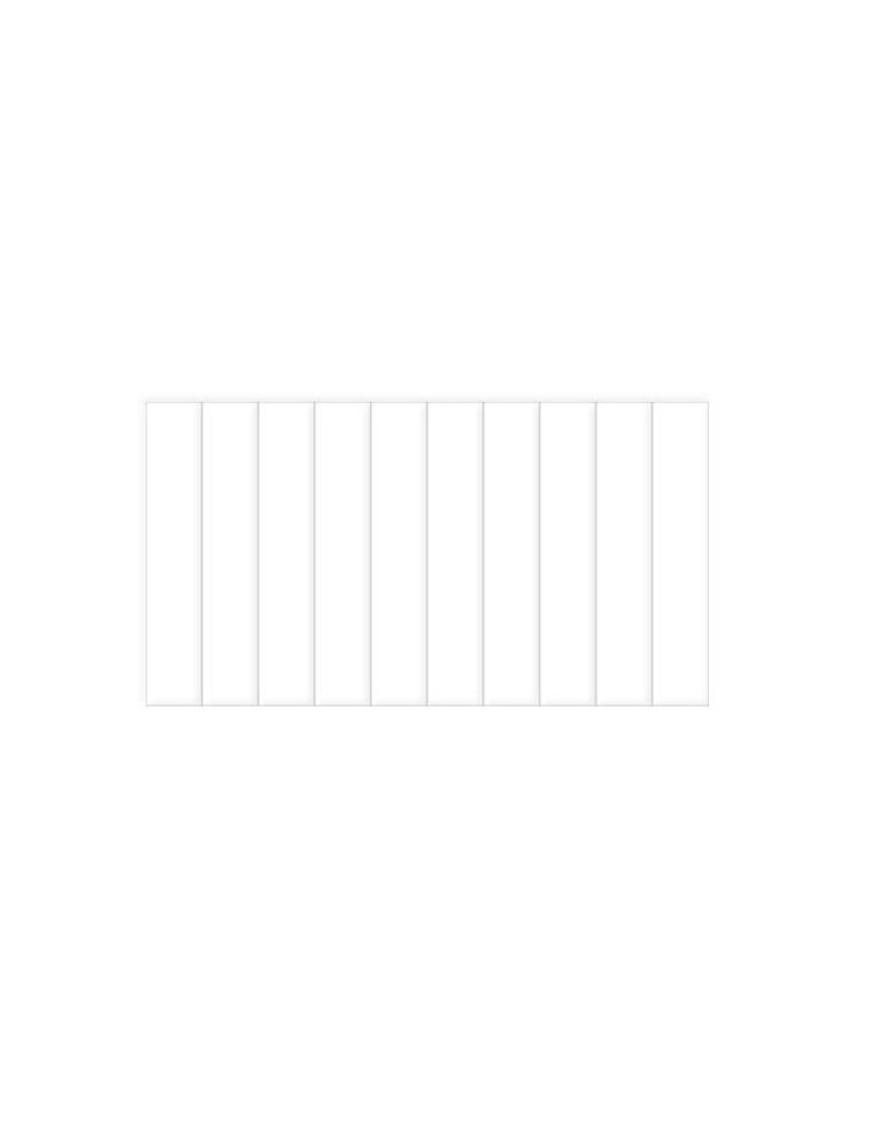 LessStress boormachine PVC-strips, 10 stuks