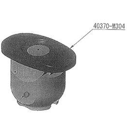 Nidek Rubber voor flexibele aandrukstift voor Nidek ME-1000 / LE-9000 series