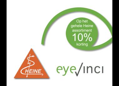 Tijdelijk 10% korting op het gehele Heine assortiment