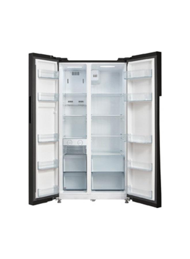 Inventum Amerikaanse koelkast SKV0178B zwart