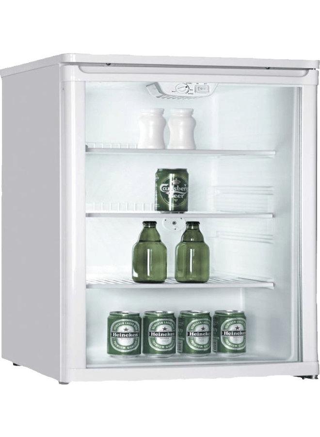 PKM GKS 102 glasdeur koelkast flessenkoeler