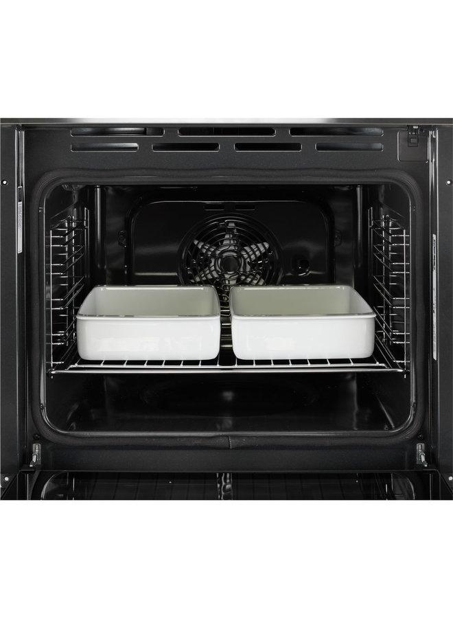 Indesit IFW 3844 P IX inbouw oven zelfreinigend Pyrolyse