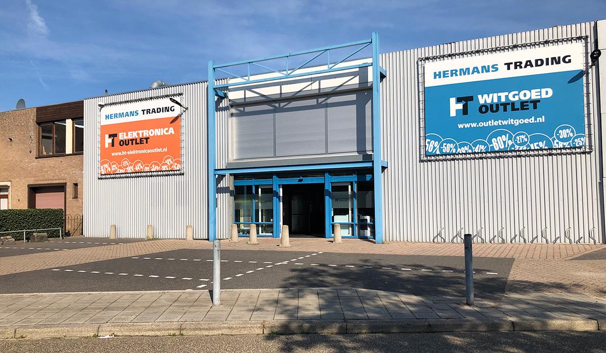 Hermans Trading Witgoed outlet, Korte Beijerd 2 Cuijk