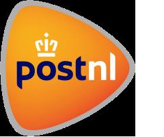 Met PostNL versturen wij de kleinere pakketten.
