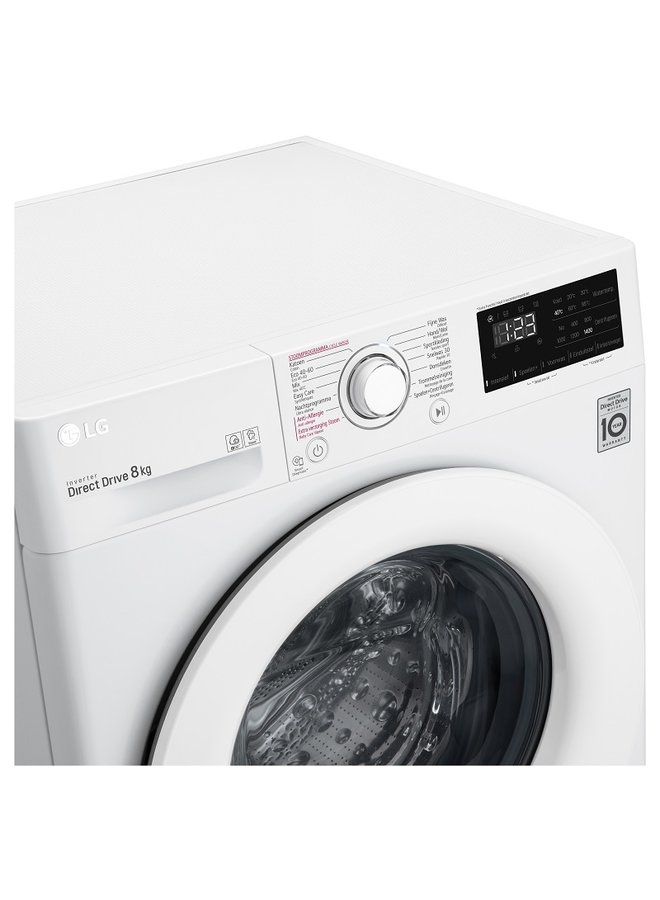 LG F4WV208S3 wasmachine  8 kg A+++