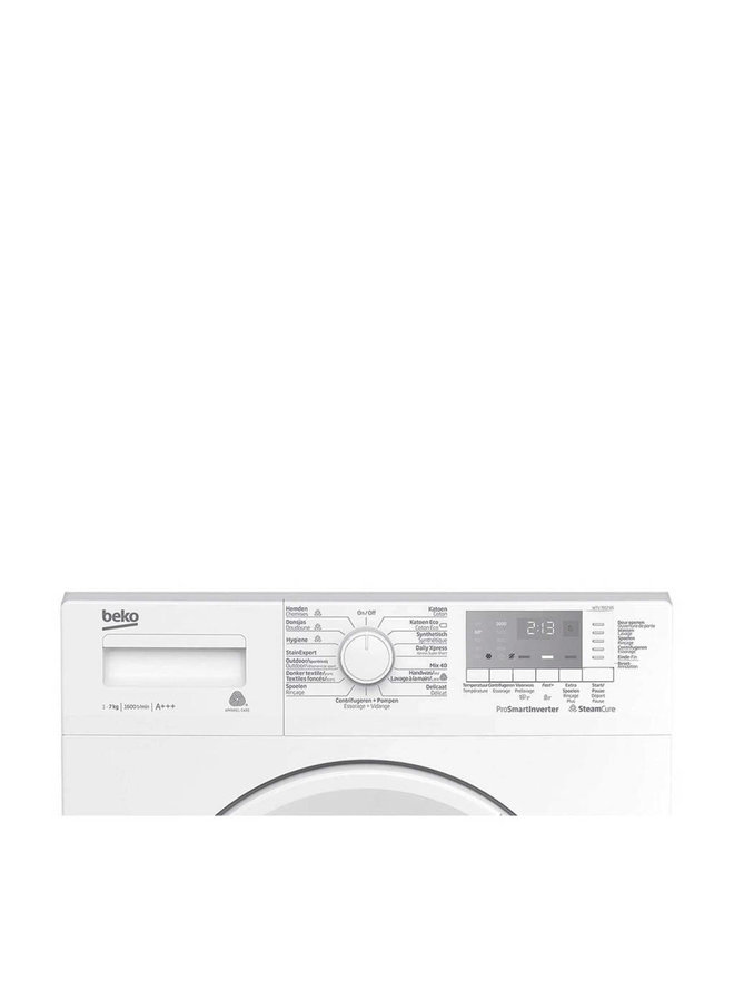 BEKO WTV7812BS Wasmachine 7 kg A+++ 1600 toeren stoom