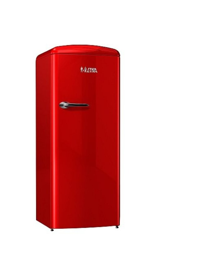 ETNA KVV754ROO  retro koelkast Rood