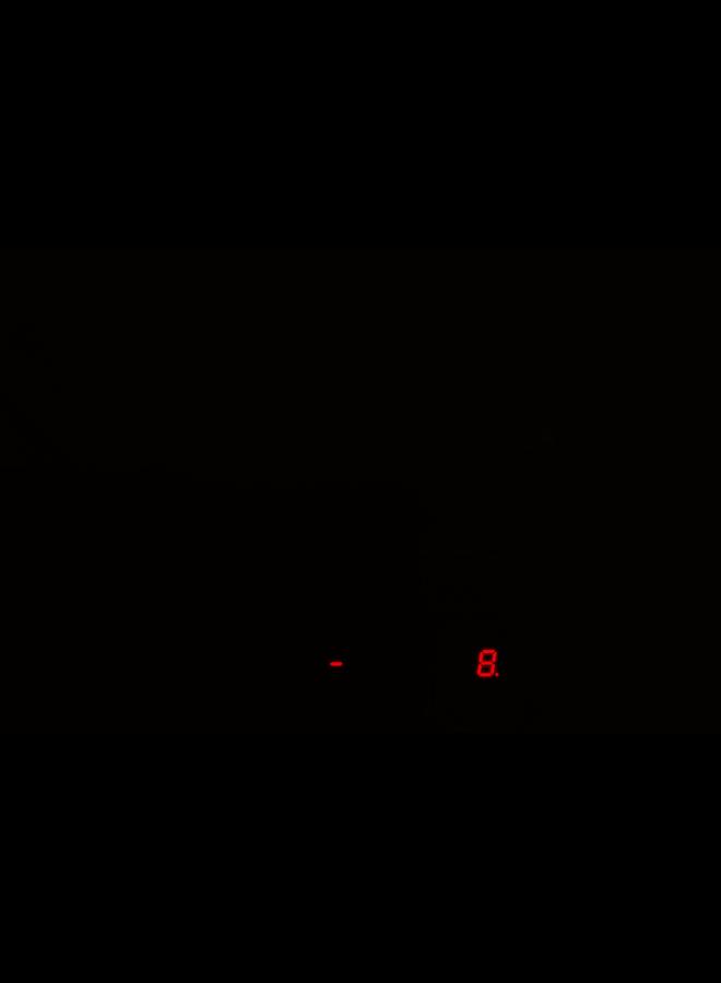 Indesit IVID 641 B C Inductie kookplaat