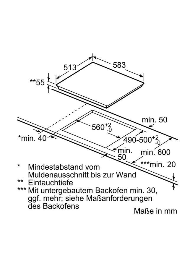 Neff T56BD50N0 inductie kookplaat 60 cm