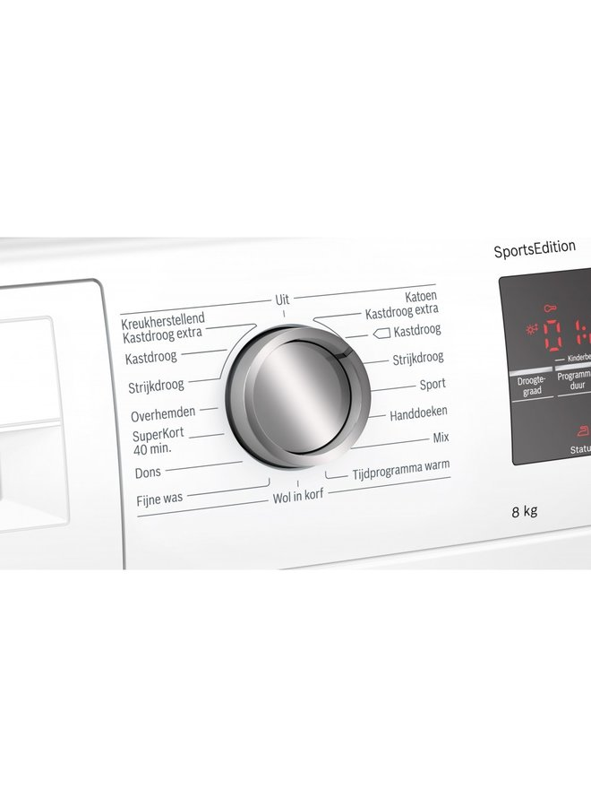 BOSCH WTW85495NL Warmtepompdroger A++  8kg