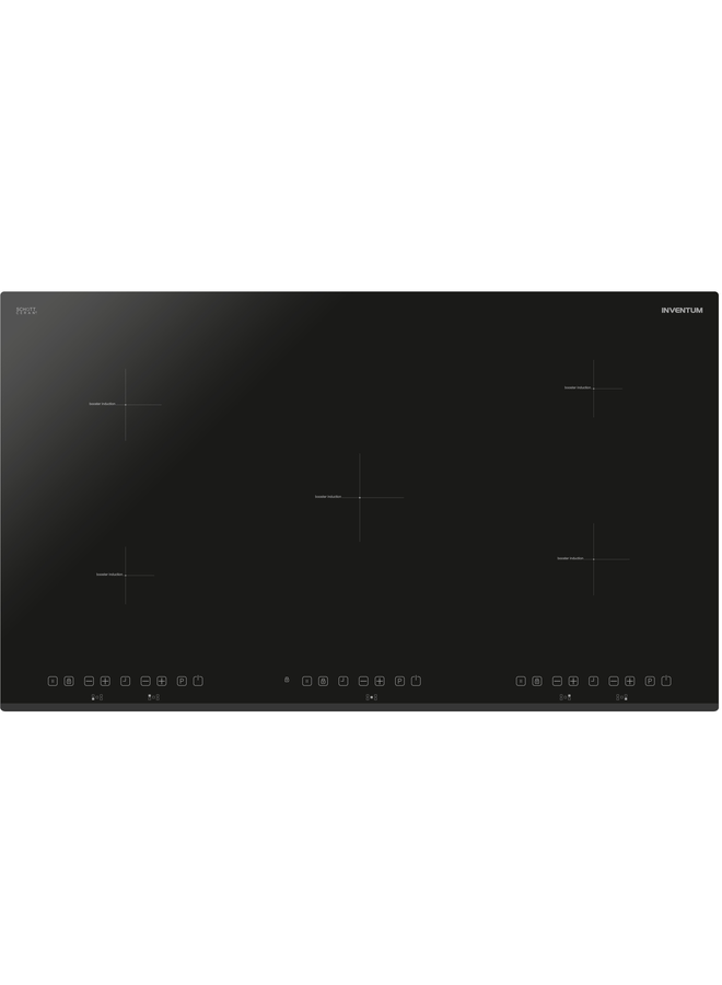 Inventum IKI9021 Inductiekookplaat 90cm