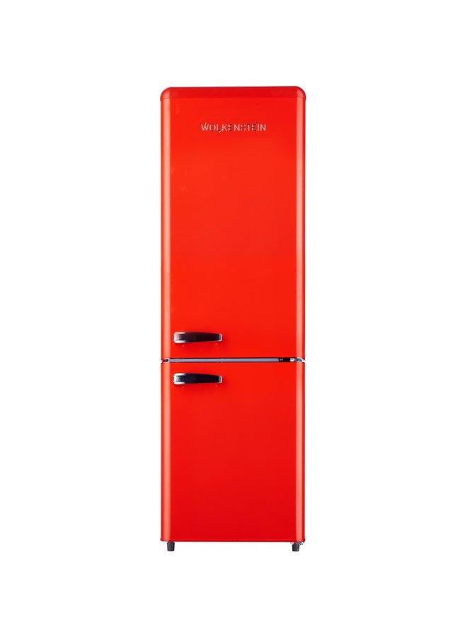 Wolkenstein KG 250.4 RT FR  A++ Retro Koelkast rood