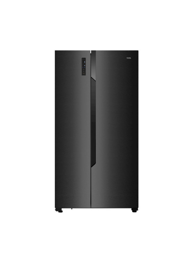 Etna AKV178ZWA Amerikaanse koelkast Zwart