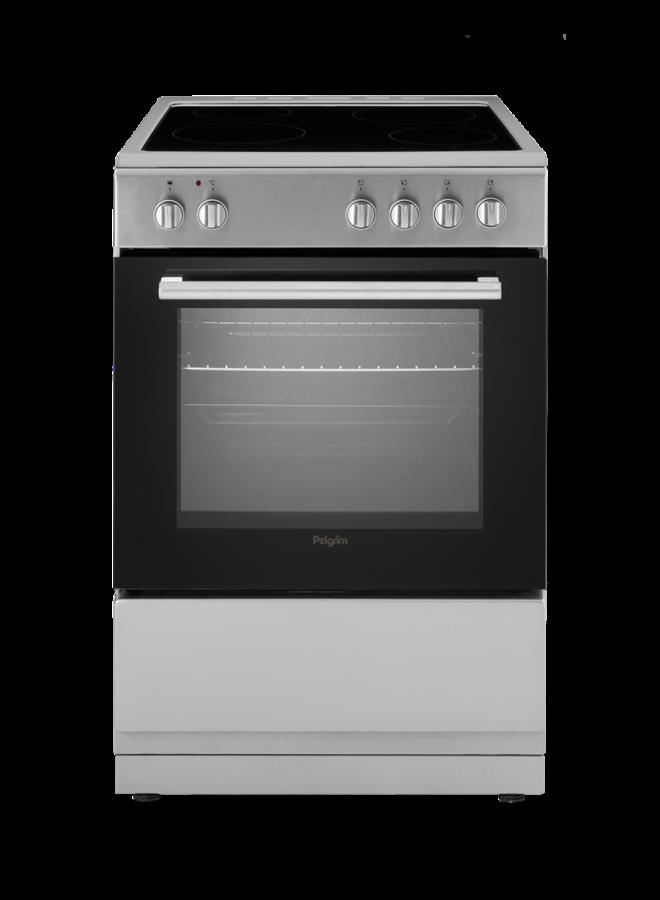 Pelgrim PFI7160RVS inductie fornuis RVS