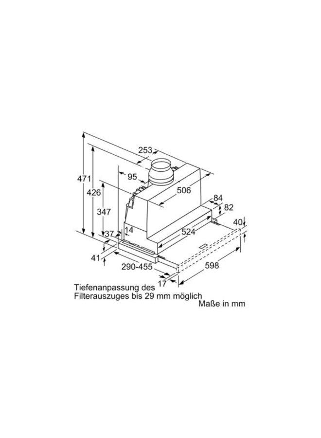 Siemens LI67RA530 60 cm afzuigkap #