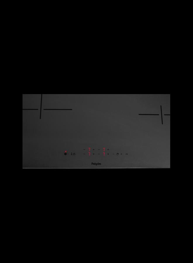 Pelgrim IK4083M inductie kookplaat 80 cm Mat Zwart