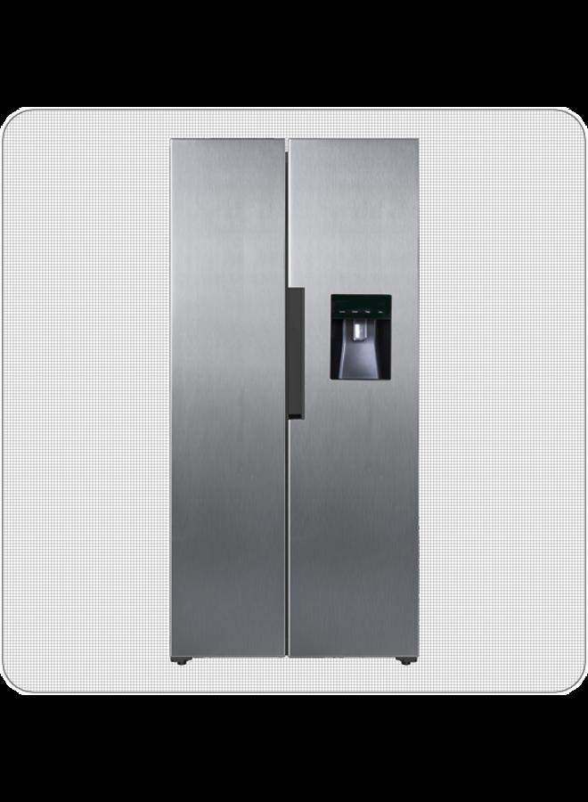 PKM SBS440.4A+ NFWDSI Amerikaanse koelkast