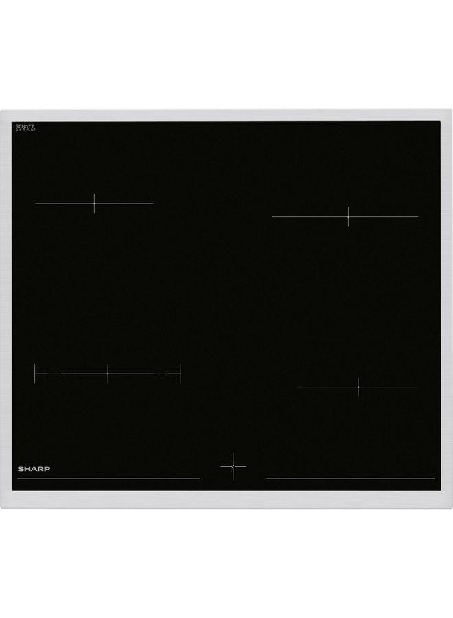 Sharp K-62D19IM0 oven met keramische kookplaat