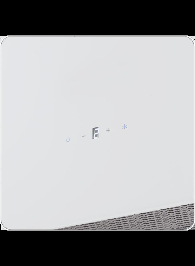 Wolkenstein W I2-70A+WTZ Eiland afzuigkap 70 cm Wit